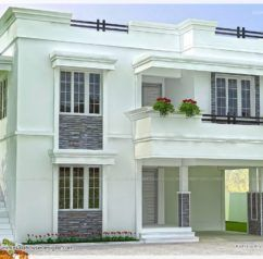 36 best houses images on Pinterest Kerala House elevation and