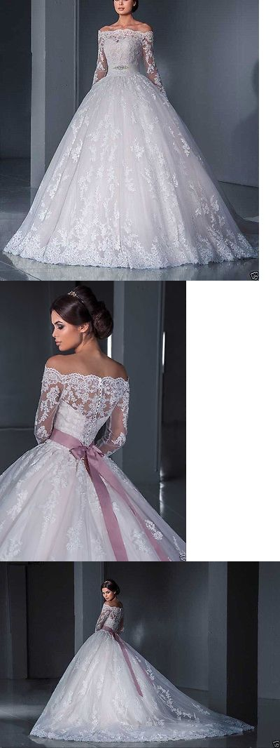 Wedding Dresses: New Lace White Ivory Wedding Dress Bridal Ball Gown Custom Size4-6-8-10-12-14-16 -> BUY IT NOW ONLY: $149.99 on eBay!