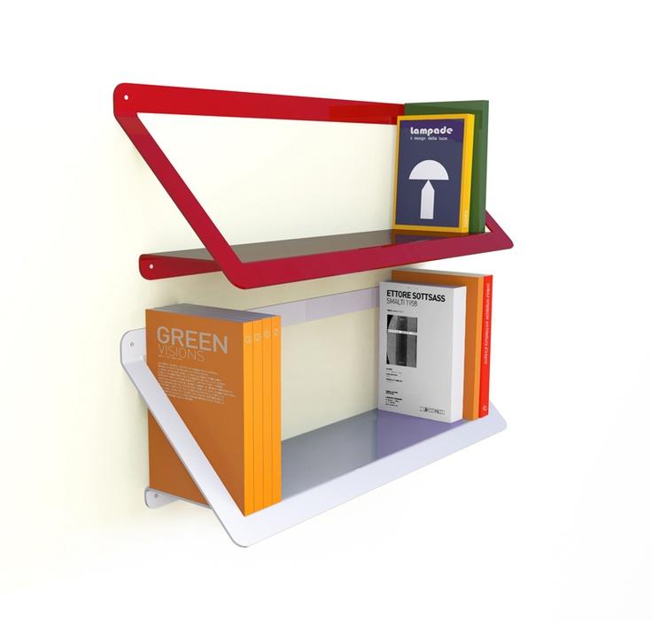 Asola  design: Esprimodesign Studio    #shelf #furniture #study #office #childroom #book