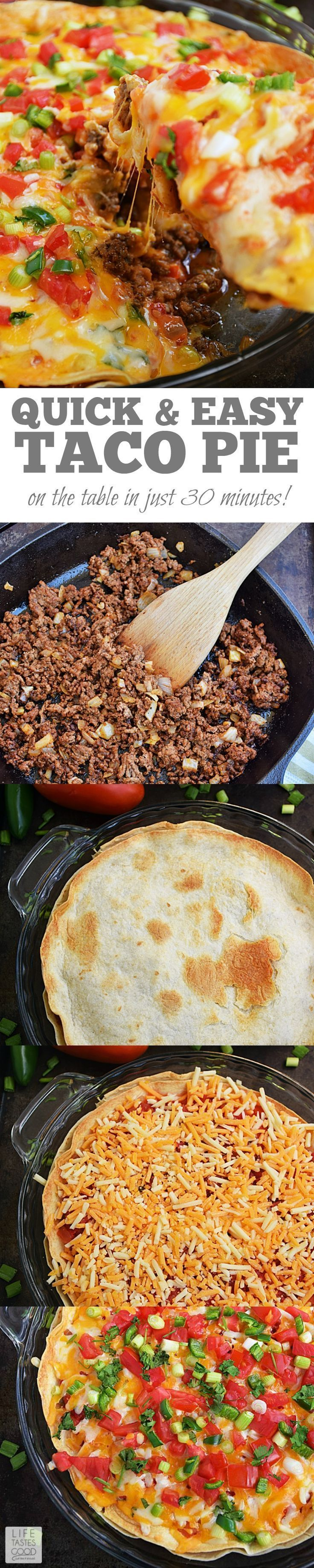 best ideas about taco pie recipes on pinterest taco pie bake