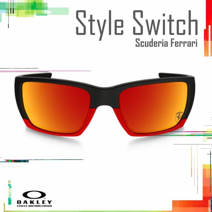 "Lentes Oakley Ferrari ""Style Switch"""