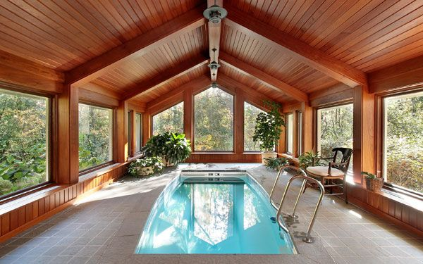 This website had greats tips on how to maintain an indoor pool and what materials to use to protect from humidity