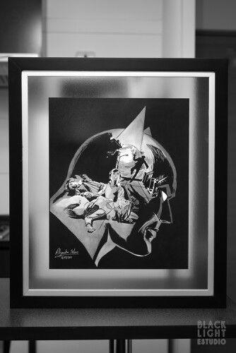 Batman classic comics grafito 45 x 55