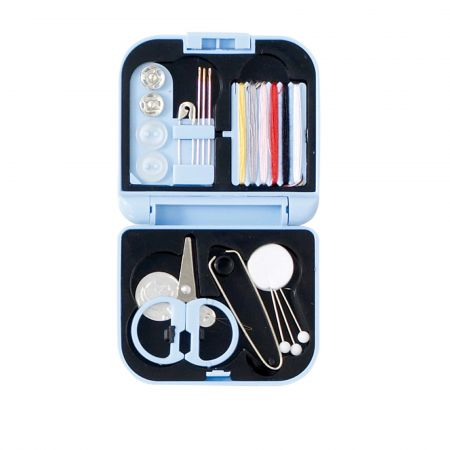 Sewing Kit - Light Blue