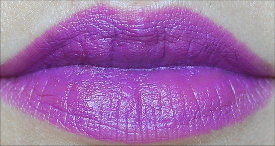 MAC Heroine Lipstick Swatch, Review & Pictures Fashion Sets Collection