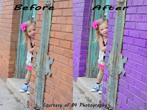 Use Photoshop to Quickly Change the Color of Objects in Your Photos: Editing Photo In Photoshop, Used Photoshop, Awesome Pics, Thanksus Photoshop, Colors Wall, Changing Colors, Photo Awesome, Awesome Pin, Colors Swap