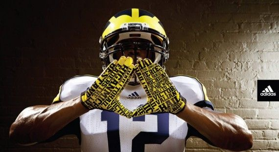 New Michigan Wolverines gloves