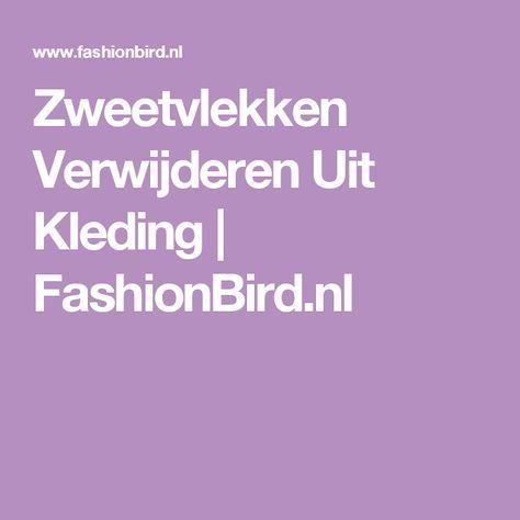 Zweetvlekken Verwijderen Uit Kleding | FashionBird.nl