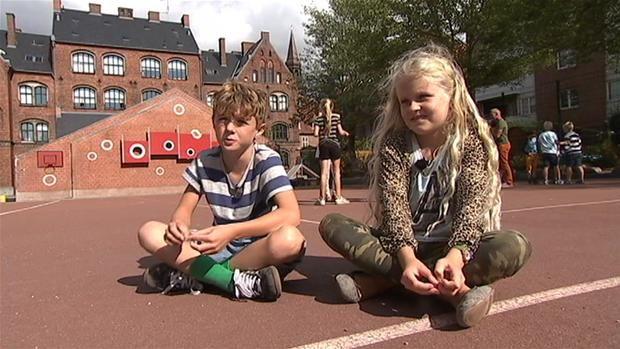 VIDEO Efter første uge: Lara og Alvin på 8 og 9 år godkender skolereformen