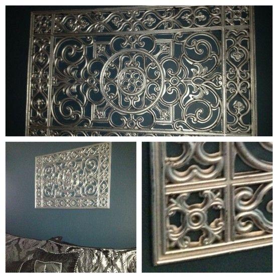 Rubber Door Mat U0026 Rustoleum Wrought Iron Metal Wall ...