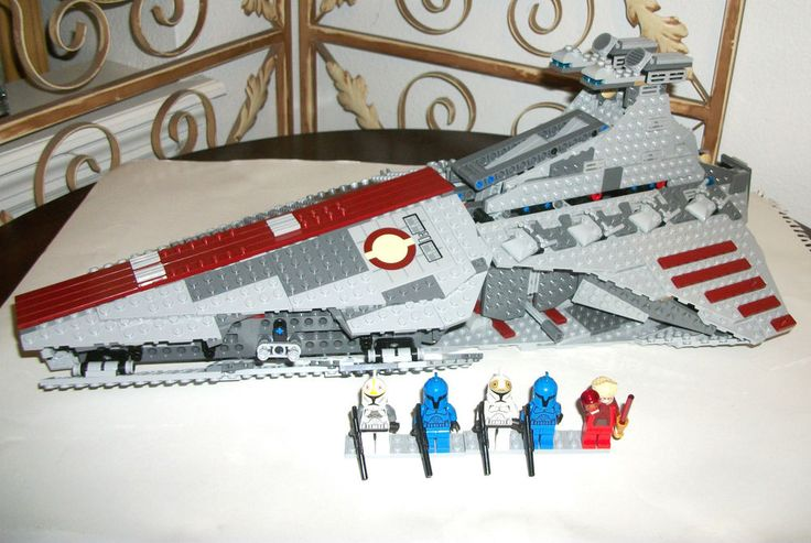 LEGO Palpatine Minifigure Clone Pilot Senate 8039 Star Wars Set Venator Attack  #LEGO