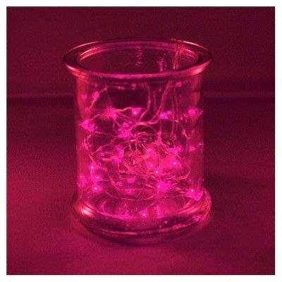 2ct Pink Rope Lights, String Lights