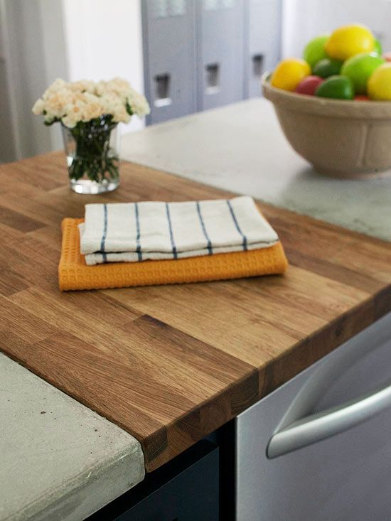 Butcher Block Cutting Board Countertop Woodworking