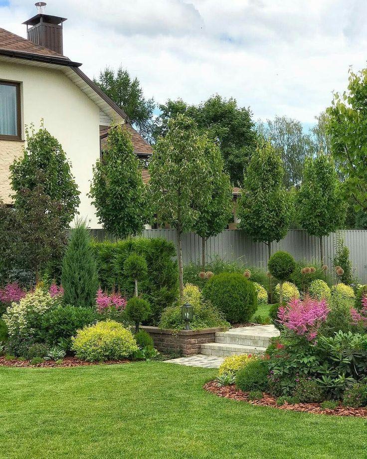как лучше посадить сад фото вряд вам стоит