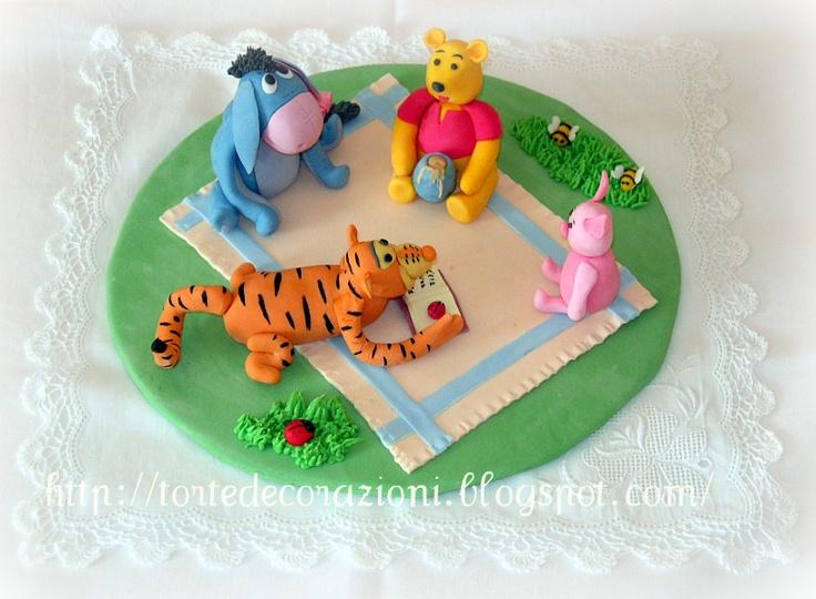 Torte e Decorazioni: Winnie the Pooh