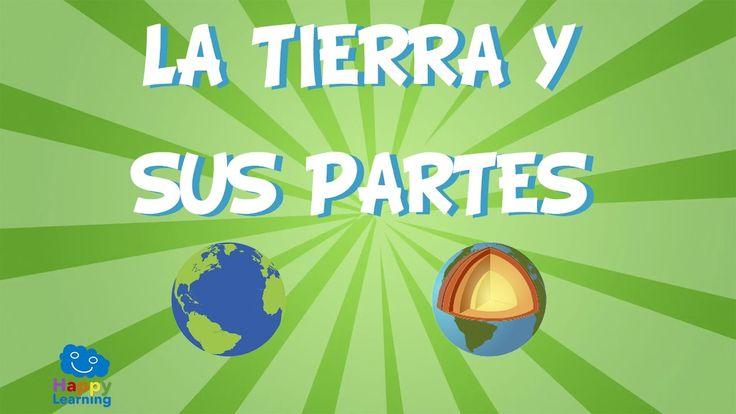 La Tierra y sus partes | Videos Educativos para Niños - YouTube