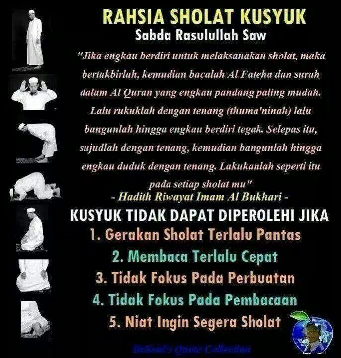 Rahsia Solat Khusyuk