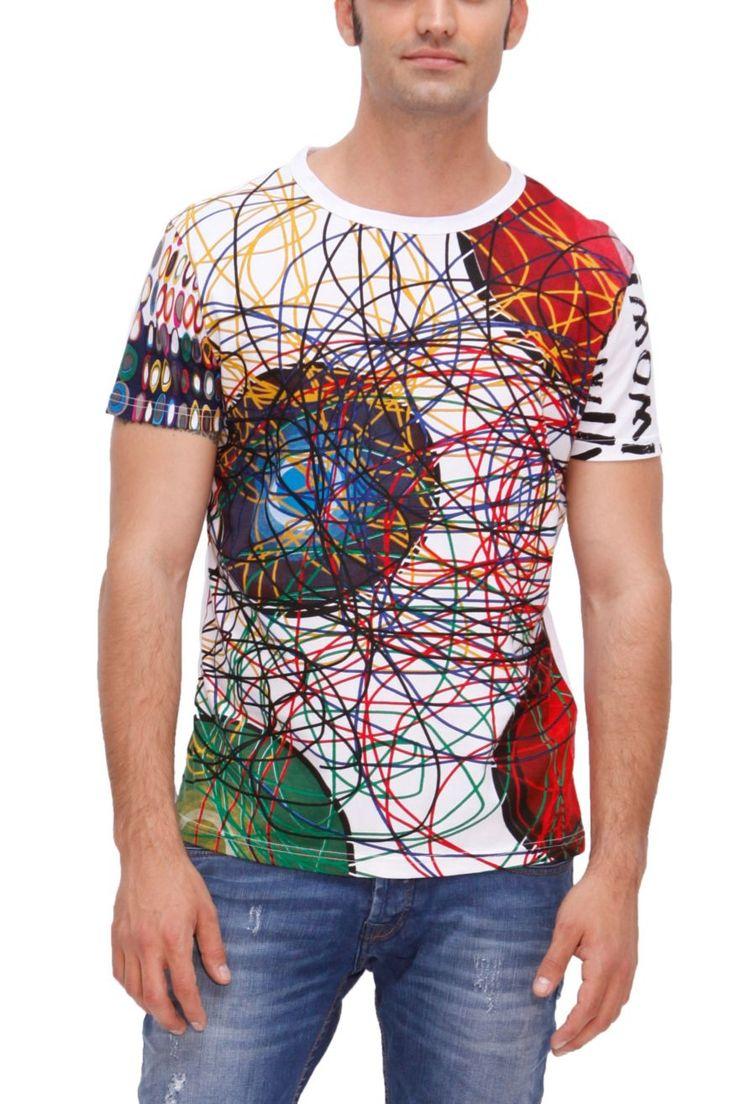Desigual - Salvador http://www.desigual.com/en_US/mens-clothing/tshirts-polos/prod-salvador-32T1451?selectedColor=BLANCO=3