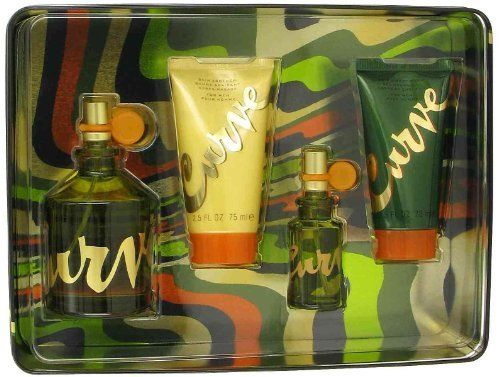 CURVE by Liz Claiborne - Men - Gift Set -- 4.2 oz Cologne Spray + 2.5 oz Skin Smo by Liz Claiborne. $43.43. Launched by the design house of Liz Claiborne in 1996, CURVE is classified as a refreshing, spicy, lavender, amber fragrance. This masculine scent possesses a blend of fresh greens, warm wind, pepper, finishing with mahogany and water. It is recommended for daytime wear.