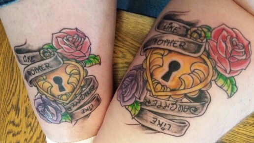 mother daughter tattoo mother daughters mothers piercing and tattoos …