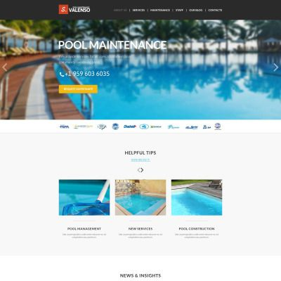 Joomla Theme Maintenance Themes Web Design