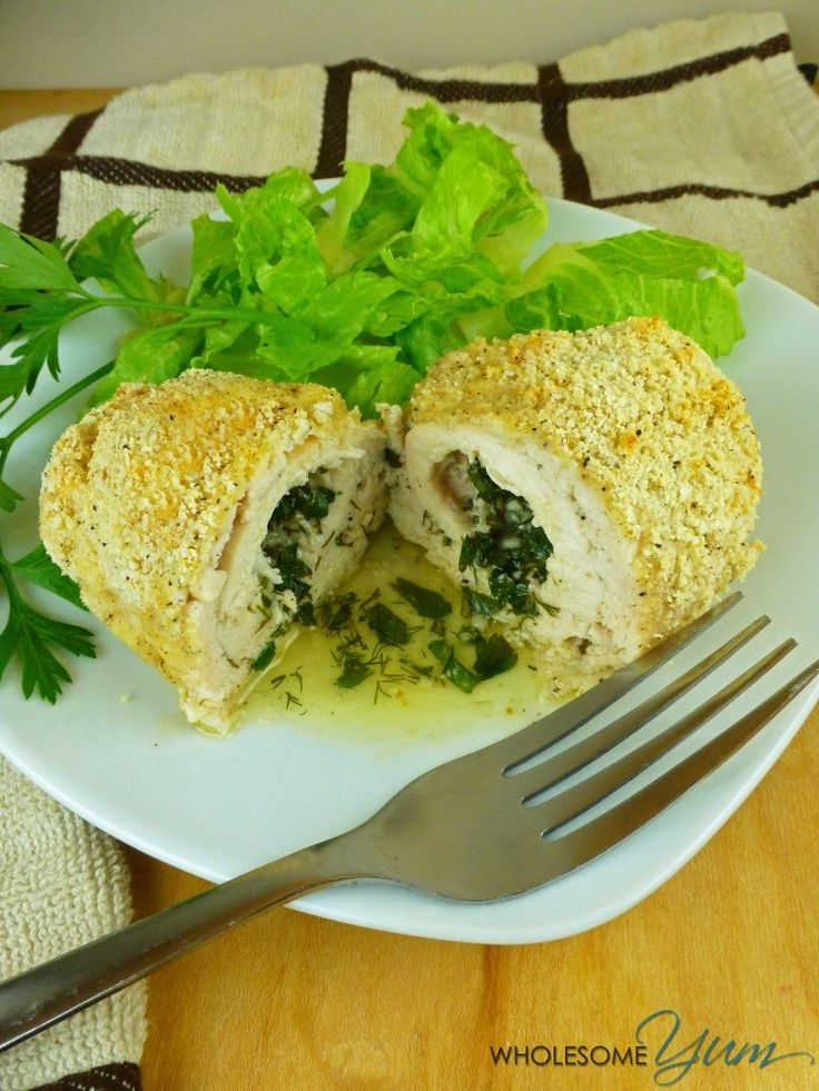 Chicken Kiev (Paleo, Low Carb) | Wholesome Yum - Natural, gluten-free, low carb…
