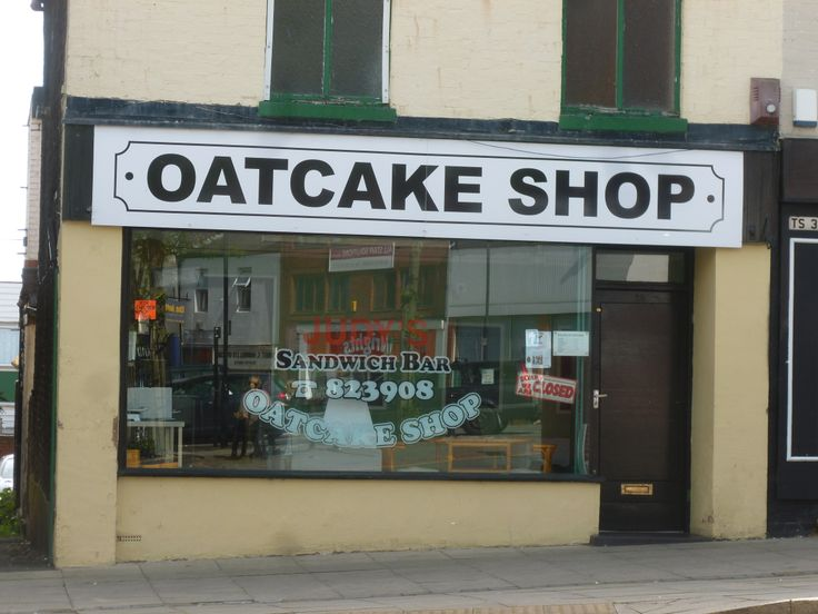 Judy's Oatcake Shop in Tunstall Square, Stoke-on-Trent... I absolutely love this Staffordshire culinary tradition