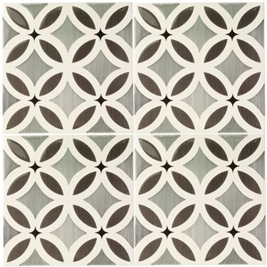 Petal - Glazed & Decorated - Shop by tile type - Wall & Floor Tiles | Fired Earth