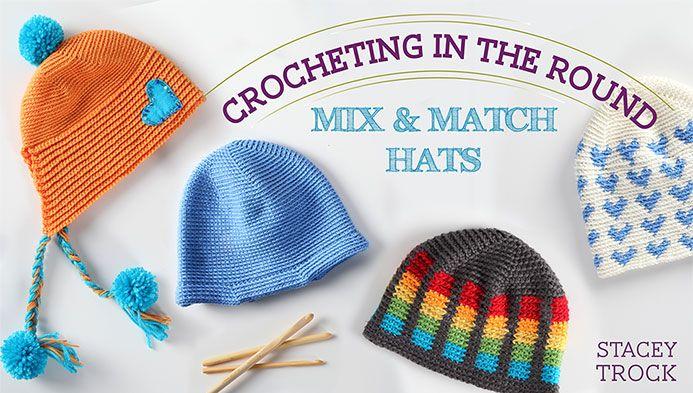 Find Some Crochet Hat Patterns for Beginners http://crocheting.myfavoritecraft.org/crochet-hat-patterns-for-beginners/