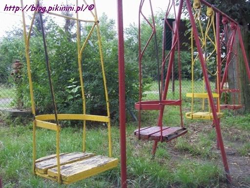 Plac zabaw z lat 80/90