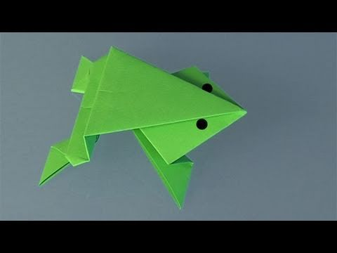 Frog - Learn to make a paper frog