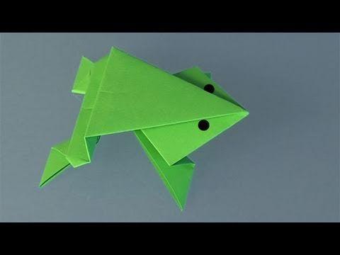 Cómo hacer una mariposa de papel. Origami - YouTube
