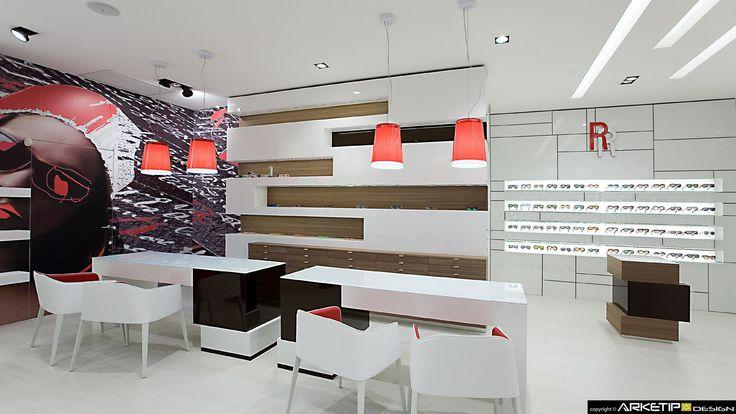 Ottica ROVEDA, Rho (MI) project  Arketipo Design Milano-Italy www.arketipodesign.it