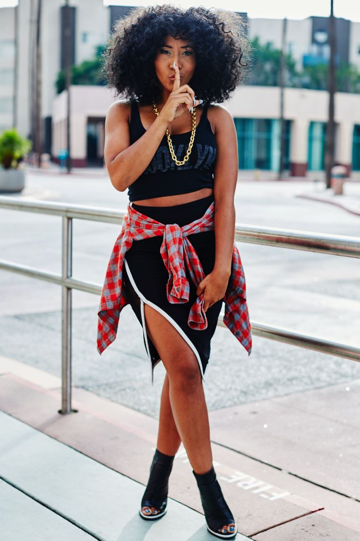 Fashion Street Style Inspiration Natural Hair Afro Hair