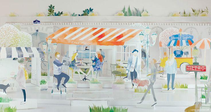Catherine Cordasco: Spring in Paris
