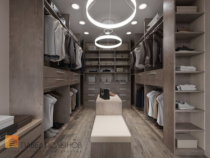 Гардеробная комната, стиль минимализм, ЖК Duderhof Club