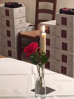 eine romantische Degustation