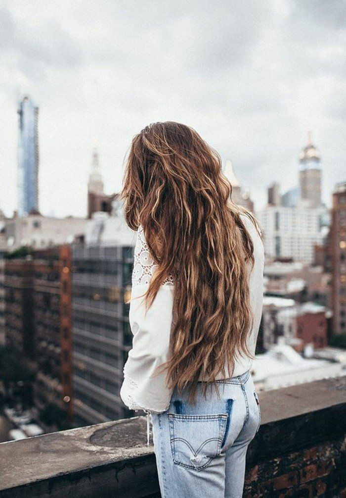The long haircut for women – 70 ideas in photos