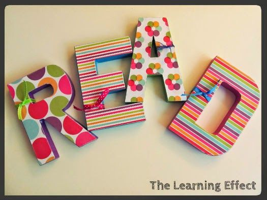 READ Letters for Classroom Library | The Learning Effect