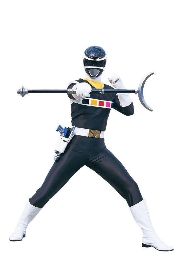 Power Rangers In Space - Black Ranger