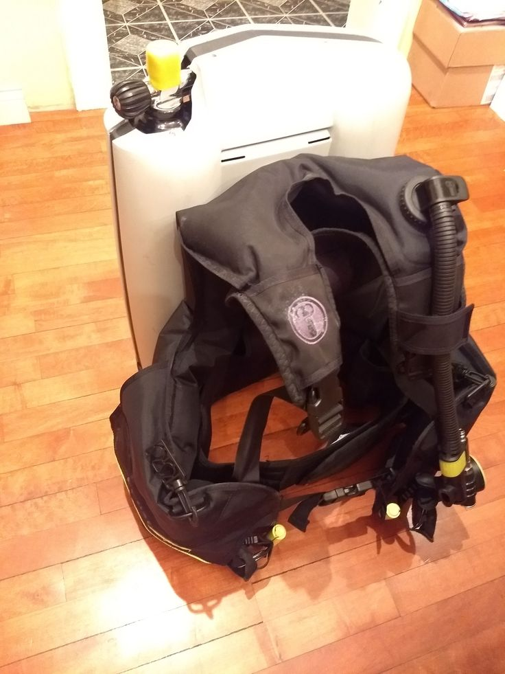 US Divers ABS w/ newer BCD