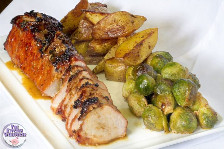 Sheet Pan Applewood Bacon Top Pork Tenderloin, Herbed Potatoes and Brussels Sprouts - Get your deliciousness on with this one pan meal! Sheet Pan Applewood Bacon Top Pork Tenderloin, Herbed Potatoes and Brussels Sprouts is the perfect meal when you want simple, delicious and it all done on one pan!