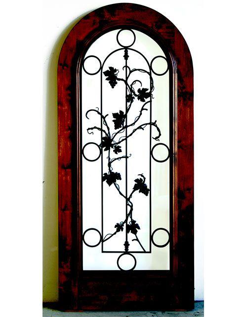 The Tuscan Wine Cellar Door is a 32  x 80  pre-hung door  sc 1 st  Pinterest & 8 best Wine Cellar Doors images on Pinterest | Basement doors ...