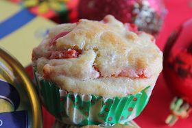 Muffin Salati con Tonno, Acciughe sott'olio e Peperoni