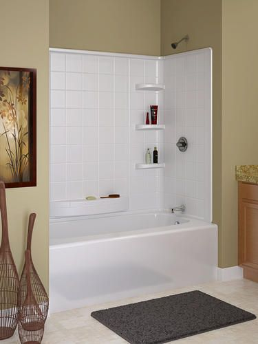 3 Pieces Wall Decor For Living Room: 1000+ Images About Bathtub Surrounds On Pinterest