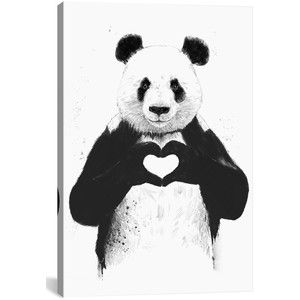 Icanvas 'All You Need' Giclee Print Canvas Art