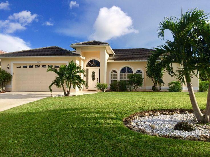 Ferienhaus Cape Coral - Die Villa Three Palms ist ein sehr schönes Ferienhaus in Cape Coral für 6 Personen mit einem privaten Pool und Internet.