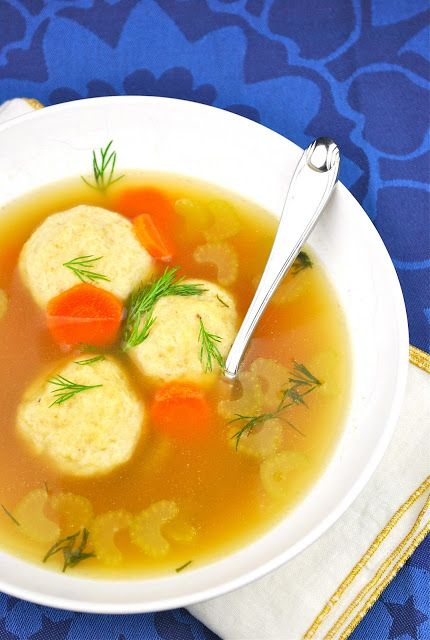 Matzo Ball Soup :: 5 delicious recipes for Hanukkah | #BabyCenterBlog