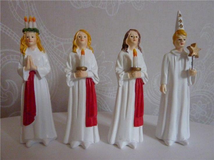 LUCIATÅG. shabby, jul, lantligt, lucia Set nr 3