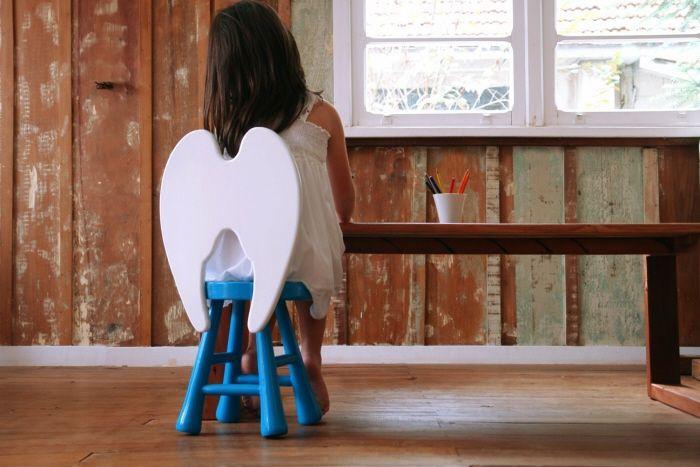 Little Angel Stool - Furf Design Studio.